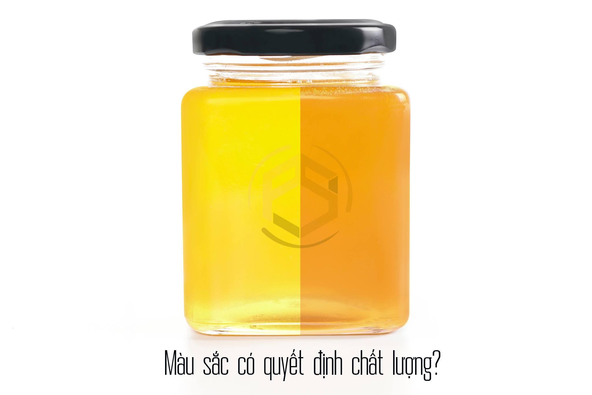 Hiểu lầm mật ong - Màu sắc có quyết định chất lượng mật ong?